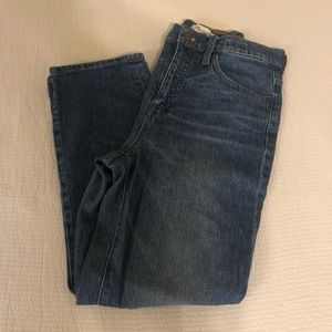 Madewell - Classic Straight Jean